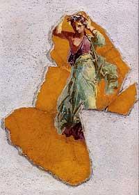 Девушка. Вилла Сан-Марко